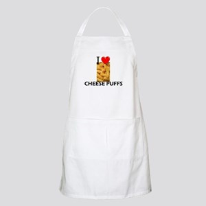 I Love Cheese Puffs BBQ Apron