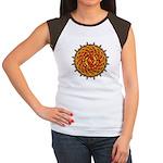 Celtic Knotwork Sun Women's Cap Sleeve T-Shirt