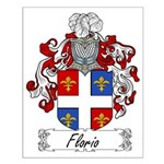Florio Family Crest Small Poster