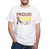 Autism aunt Mens Classic White T-Shirts