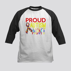 Proud Autism Aunt Awareness Baseball Jersey