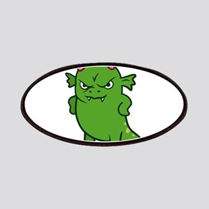 Cute Grumpy Monster Patch