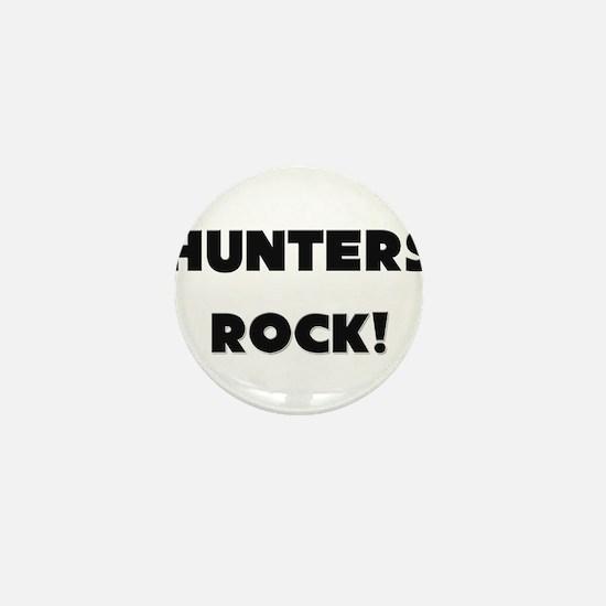 Hunters ROCK Mini Button