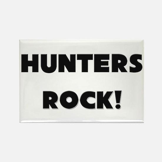 Hunters ROCK Rectangle Magnet