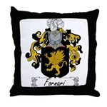 Fornari Family Crest Throw Pillow