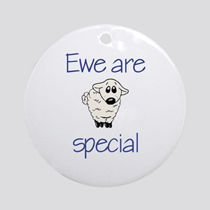 Ewe are special Keepsake (Round)