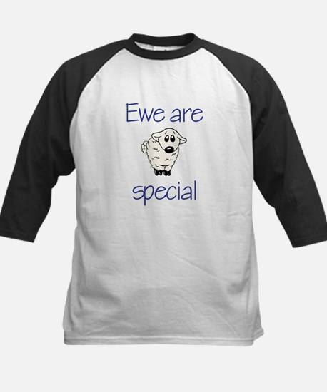 Ewe are special Kids Baseball Jersey