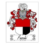 Foschi Family Crest Small Poster