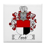Foschi Family Crest Tile Coaster