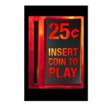 INSERT COIN TO PLAY Postcards (Package of 8)