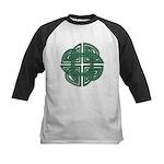 Celtic Four Leaf Clover Kids Baseball Jersey