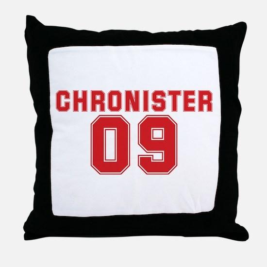 CHRONISTER 09 Throw Pillow