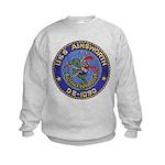 USS AINSWORTH Kids Sweatshirt
