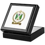 GIGUERE Family Crest Keepsake Box