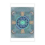 Celtic Eye of the World Mini Poster Print