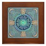 Celtic Eye of the World Framed Tile