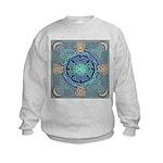 Celtic Eye of the World Kids Sweatshirt