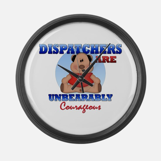 Dispatchers Are Unbearably Co Large Wall Clock