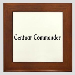 Centaur Commander Framed Tile