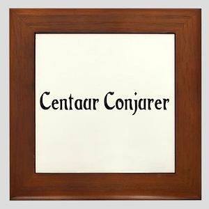 Centaur Conjurer Framed Tile