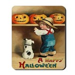 Halloween Jack O'Lanterns Mousepad