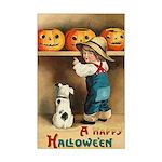 Halloween Jack O'Lanterns Mini Poster Print