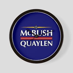 McBush/Quaylen Wall Clock