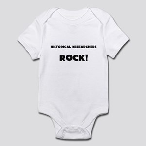 Historical Researchers ROCK Infant Bodysuit