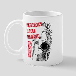 Punks Not Dead Mug