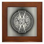 Celtic Knotwork Dragons Framed Tile