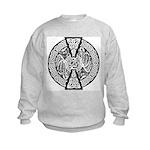 Celtic Knotwork Dragons Kids Sweatshirt