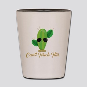 Gold Can't Touch This Cactus Shot Glass