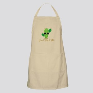 Gold Can't Touch This Cactus Light Apron