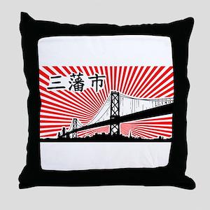 San Francisco USA Throw Pillow