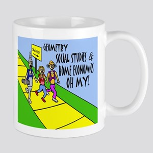 GEOMETRY SOCIAL STUDES HOME E Mug