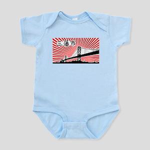 San Francisco USA Infant Creeper