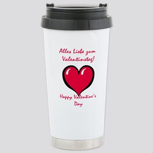 German Valentine Stainless Steel Travel Mug