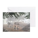 Hunters in the Mist; Greeting Cards (Pk of 10