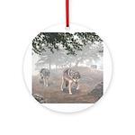 Hunters in the Mist; Keepsake (Round)