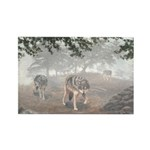 Hunters in the Mist; Rectangle Magnet (100 pack)