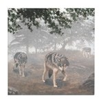Hunters in the Mist; Tile Coaster