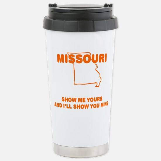 Missouri Show Me Stainless Steel Travel Mug