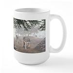 Hunters in the Mist; Large Mug