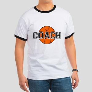 Basketball Coach Ringer T