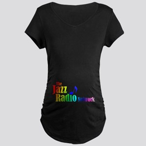 The Jazz Radio Network Maternity Dark T-Shirt