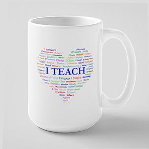 Big Hearted Teacher Mugs
