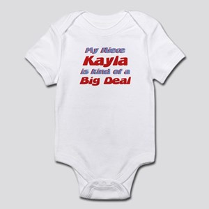 Niece Kayla - Big Deal Infant Bodysuit
