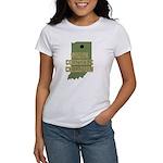 Indiana State Cornhole Champi Women's T-Shirt