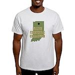 Indiana State Cornhole Champi Light T-Shirt