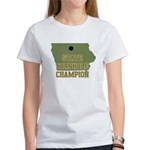 Iowa State Cornhole Champion Women's T-Shirt